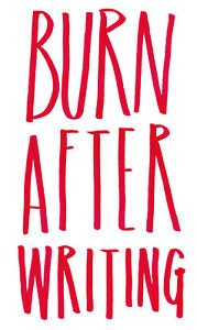 Burn After Writing Book. How Honest Can You Be by Sharon Jones