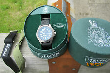 CITIZEN ROYAL MARINES COMMANDO  DIVERS 300M TITANIUM ECO DRIVE 3 STRAPS BOXED