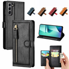 For Samsung Galaxy S21 Plus Ultra Case Leather Flip Wallet Card Stand Cover NEW