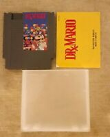 Dr. Mario (Nintendo NES ) w/Manual - Authentic & TESTED