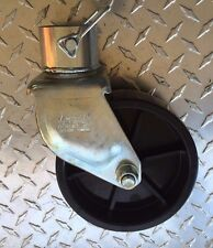 """Caster Wheel fits 2"""" Trailer Jack incl. pin. 1200#"""