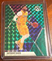 Anthony Davis Lakers 2019-20 Panini Mosaic Green Prizm Card #18