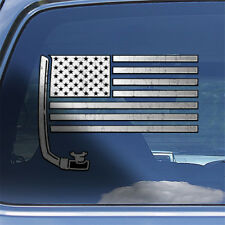 USA Snorkeling Flag decal sticker - diving snorkel goggles window decal sticker