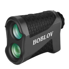 Boblov K600G Golf Laser Range Finder 6X Magnification with CR2-3V Free Carry Bag