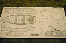 The Sea Bright Life Boat Full Size Plans