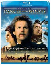 Dances With Wolves 1990 Adventure Drama Movie Blu Ray UK Region Seale