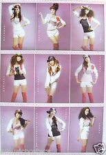 "GIRLS' GENERATION ""9 SHOTS OF THE GIRLS WEARING WHITE SHORTS, RED BOOTS"" POSTER-"