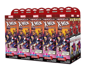 Marvel HeroClix: X-Men Rise and Fall Booster CASE (2 bricks)