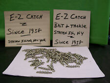 """Bead Chain Fishing Swivels Stainless Steel 165 lb. Test Lot of 77 pieces 1-3/4"""""""