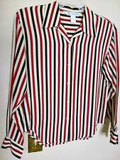 Austin Reed Women's Silk Shirt Size 6 Stripe design