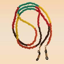 NEW Multi Colour Toho Seed Beaded Glasses Strap Holder Long Length Chain