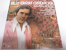 BILLY 'CRASH' CRADDOCK~Two Sides Of 'CRASH'~Factory Sealed Vinyl LP ABCX-777