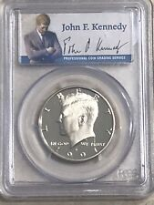 1991S PCGS PR70DCAM KENNEDY HALF DOLLAR PROOF DEEP CAMEO PR70 Low Pop