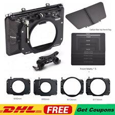 Tilta MB-T12 4x5.65 Carbon Fiber Matte Box (CLAMP-ON) for Sony BMCC Camera Rig