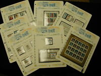 Israel Collection of  Stamps All Mint NH with Souvenir Sheets 1980-1984