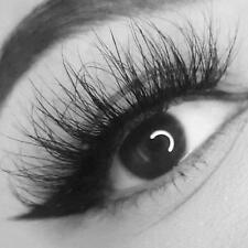 100% Mink Soft Long Natural Thick Makeup Eye Lashes False Eyelashes Black 3D