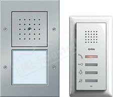 Gira 049543 Einfamilienhaus-Paket Audio Türkommunikation alu