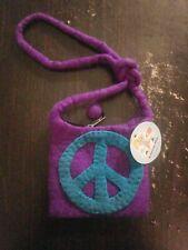 Archimedes Wear- Purple (Peace Sign) Bag