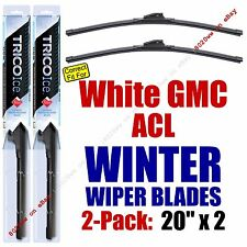 WINTER Wiper Blades 2pk Premium fit 1988-1995 White GMC ACL - 35200x2