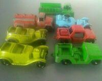 Lot of 7 Vintage TOOTSIETOY Cars & Vehicles -Tootsie Toy Metal