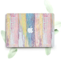 Pink Vintage Wood Design Hard Cover Case For Macbook Pro Retina Air 11 12 13 15