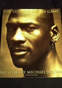 Michael Jordan FOR THE LOVE OF THE GAME Bio Book Chicago Bulls Basketball