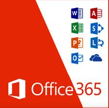 Microsoft Office 365 Pro LIFETIME Subscription 5 Devices Key Windows / Mac 2016