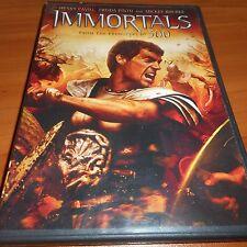 Immortals (DVD, Widescreen 2012) Henry Cavill, Stephen Dorff, Mickey Rourke Used