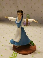 """Disney BELLE 4"""" PVC plastic Figure Cake Topper BEAUTY AND THE BEAST Toy Figurine"""