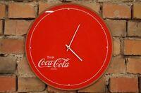 Vintage Wanduhr 70er Mid Century Design 70s Uhr COCA COLA Retro Fanta Reklame