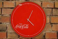VINTAGE OROLOGIO PARETE ANNI '70 metà Century PROGETTAZIONE 70s Coca Cola retrò