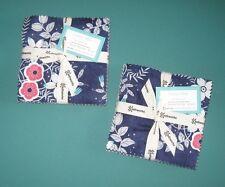 "2 Charm Packs ""CHERRY MINT"" by Clothworks, 42 ~ 5"" x 5"" 100% Cotton Quilt"