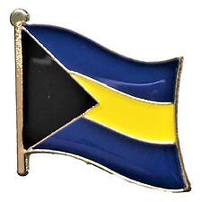 Bahamas Country Flag Bike Motorcycle Hat Cap lapel Pin