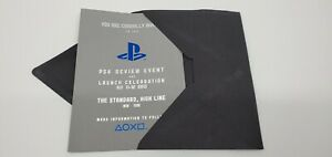 PlayStation 4 Launch Private Event Press Media Invitation RARE PS4 Review Sony