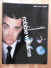 Robbie Williams - I've Been Expecting You song book piano vocal guitar