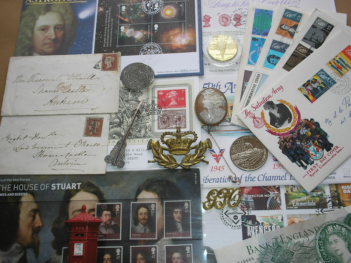 StampsFirstDayCovers&Curios