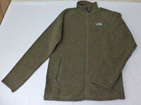 NWT The North Face Long Sleeve Olive Green Holata Full Zip Sweater    L    L1317