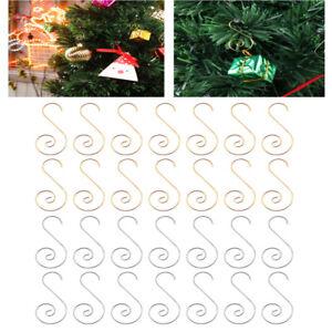 160 Pcs Christmas Ornament Hooks Christmas Tree Ornament Hangers Hooks for Xmas