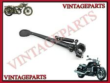 """BSA, TRIUMPH AND MANY MORE BIKES 7/8"""" UNIVERSAL CLAMP BLACK SIDE STAND"""