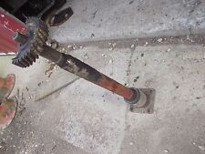 Farmall M SM Tractor IH steering main front end bolster shaft half sector gear