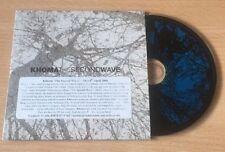 Khoma - The Second Wave - RARE Metal PROMO VGC CD 11 tracks Cult Of Luna