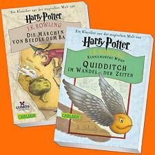 J.K. Rowling   Harry Potter: Das Märchen von Beedle dem Barden +Quidditch (Buch)