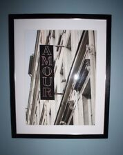POTTERY BARN AMOUR ART PRINT