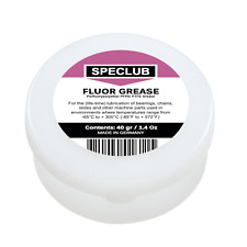 Pure FLUOR GREASE 40G Perfluorypolyether PFPE / PTFE Equivalent Molykote HP-300