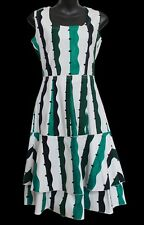 SAMANTHA SUNG Dress Pleated Sleeveless Size 4