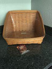 longaberger Book Keeper Basket And Protector