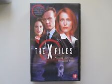 THE X FILES - NOTHING IMPORTANT HAPPENED TODAY - VHS
