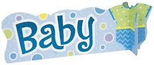 Blue Dots Baby Shower baby 3D Sign Table Decoration Centrepiece 1-6pk