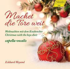 NEW CD Machet die Tore weit: Weihnachten mit dem Knabenchor (Boychoir Christmas)