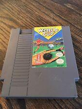 Nintendo World Cup Original Nintendo NES Game Cart NE3